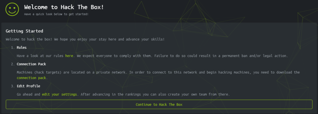 welcome ctf hackthebox