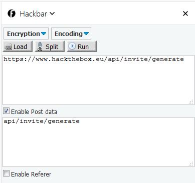 CTF::HacktheBox: Invite Code Challenge - How to get the invite Code