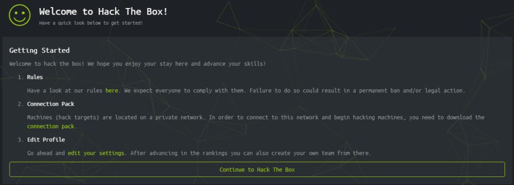 welcome ctf hackthebox